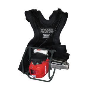 Backpack and Pole Vibrators