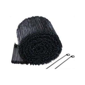 Black Annealed Loop Ties