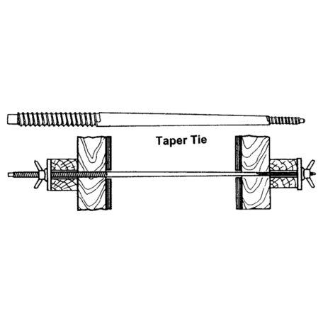 DS Taper Tie
