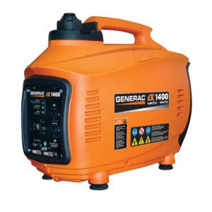 Generac 5842 iX1400 1,400 Watt 4-Stroke OHV Gas Powered Portable Inverter Generator (CARB Compliant)