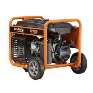 Generac 5982 GP3250 3250Watt 206cc Portable Gas Powered Generator (CSA Approved)
