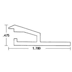 Flex liner track