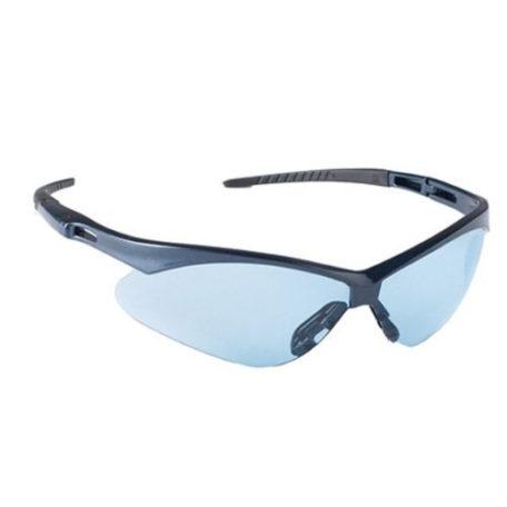 Nemesis Safety Glasses Blue Frame / Light Blue Lens