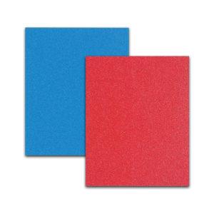 Red Blue Sanding Sheet