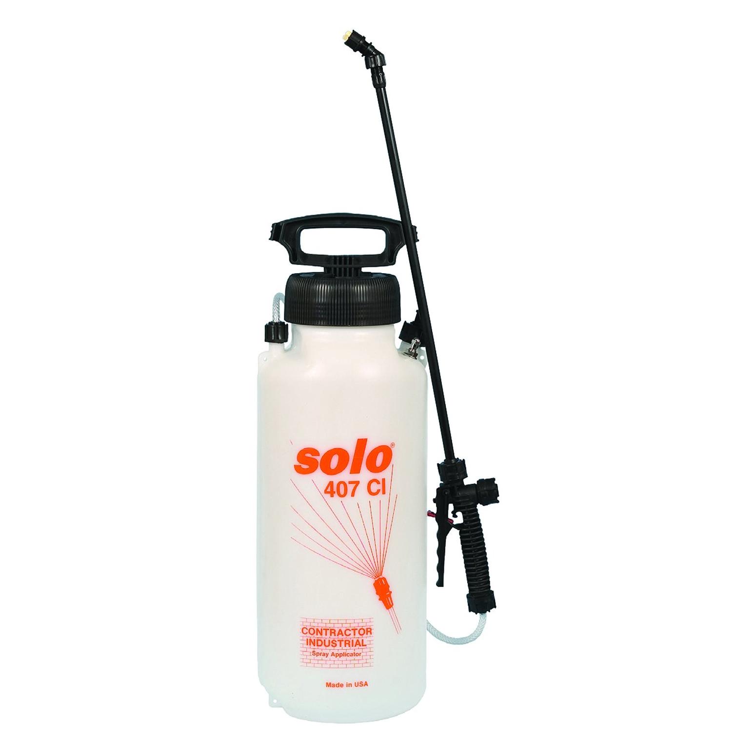 Handheld Sprayer Parts : Solo ci handheld concrete tank sprayer gallon