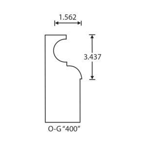 Stegmeier Wall Cap Form O-G 400