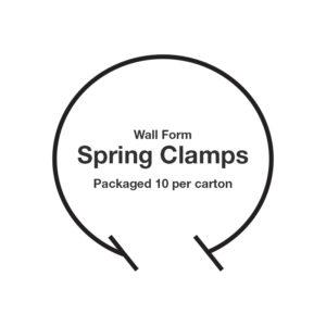 Stegmeier Wall Cap Spring Clamp