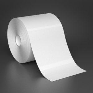 4 inch White Vinyl Tape