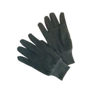 Gloves Black Knitted
