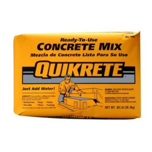 Ready to Use Concrete Mix