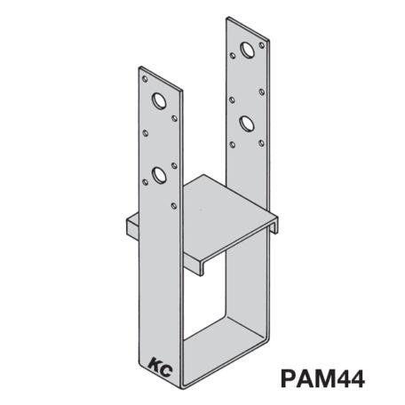 KC Metals Post Anchors Medium PAM44