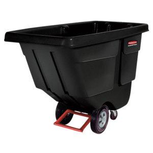 Black Cubic Yard Tilt Truck 850 lbs
