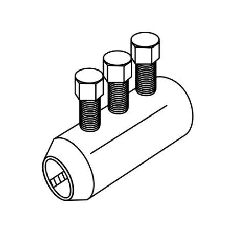 D260 Bar Lock Structural Steel Connectors
